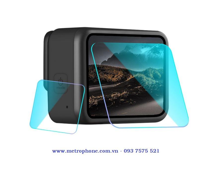 Miếng dán cường lực dành cho Gopro 8 chính hãng Puluz metrophone.com.vn