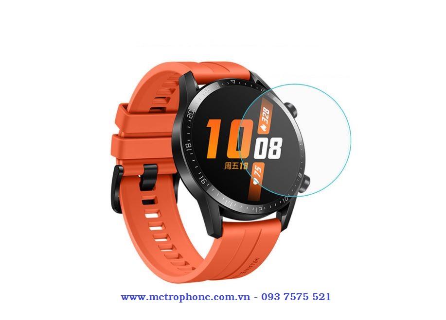 Miếng dán cường lực hiệu Gor chính hãng dành cho đồng hồ thông minh Huawei Watch GT 2 ( 46mm ) metrophone.com.vn