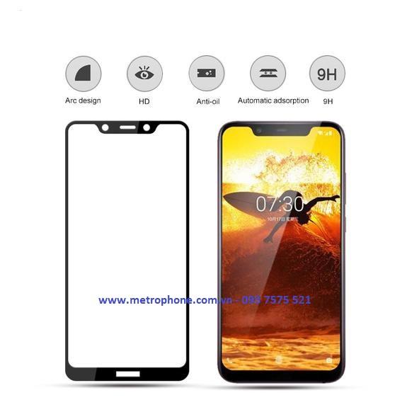miếng dán cường lực nokia 7.1 plus metrophone.com.vn