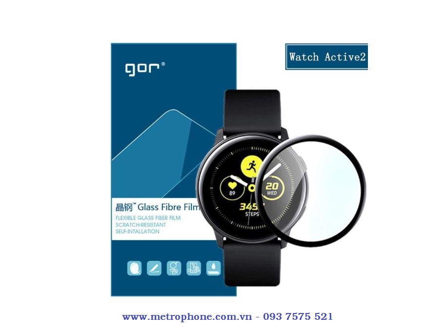 Miếng dán full màn hình dành cho Galaxy Watch Active 2 metrophone.com.vn