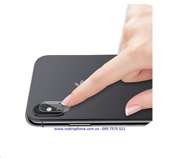 miếng dán gor camera dành cho iphone xs max metrophone.com.vn