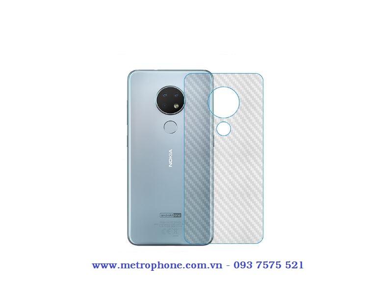 miếng dán mặt lưng carbon cho nokia 7.2 metrophone.com.vn