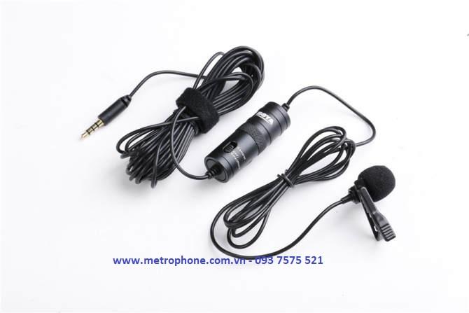 mic thu âm boya by m1 metrophone.com.vn
