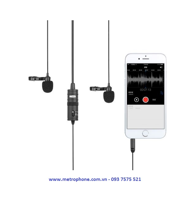 mic thu âm boya by m1dm metrophone.com.vn
