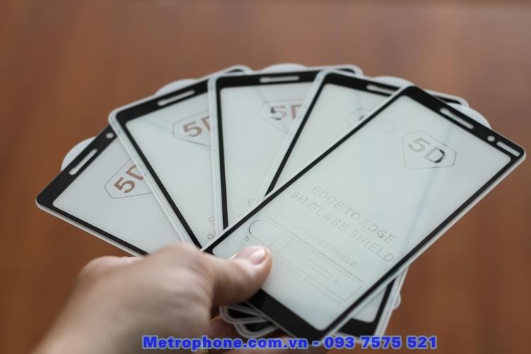 miếng dán cường lực full keo full màn hình nokia 7 plus metrophone.com.vn