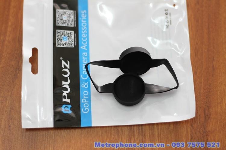 [6021] Nắp Silicone Bảo Vệ Camera Kép Gopro Fusion Hiệu Puluz - Metrophone.com.v