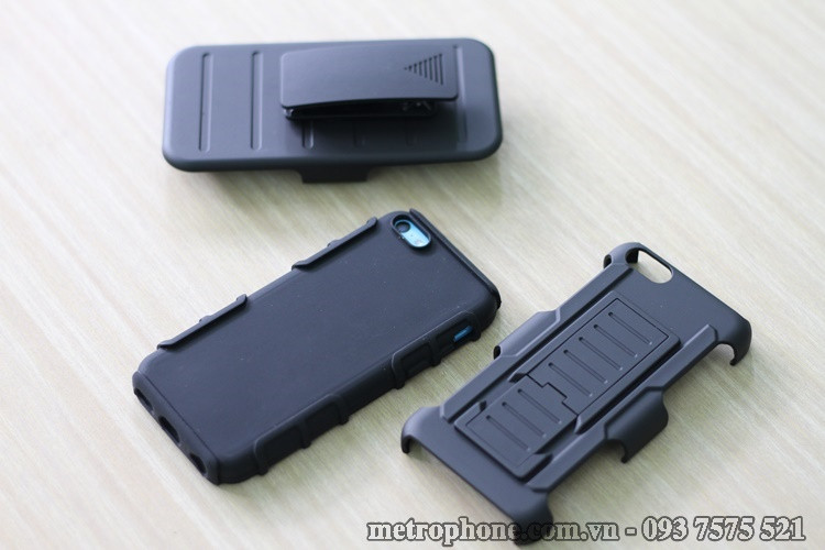 [3202] Ốp Chống Sốc Cho IPhone 5C – IPhone 5 – IPhone 5S – IPhone 5SE - Metrophone.com.vn