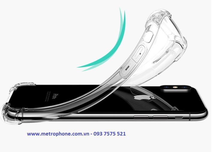 [5969] Ốp Dẻo Chống Sốc Góc Cạnh Dành Cho IPhone X - Metrophone.com.vn