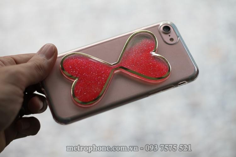 [3122] Ốp Dẻo Đồng Hồ Cát Cho iPhone 6/ 6 Plus Và iPhone 7 - Metrophone.com.vn