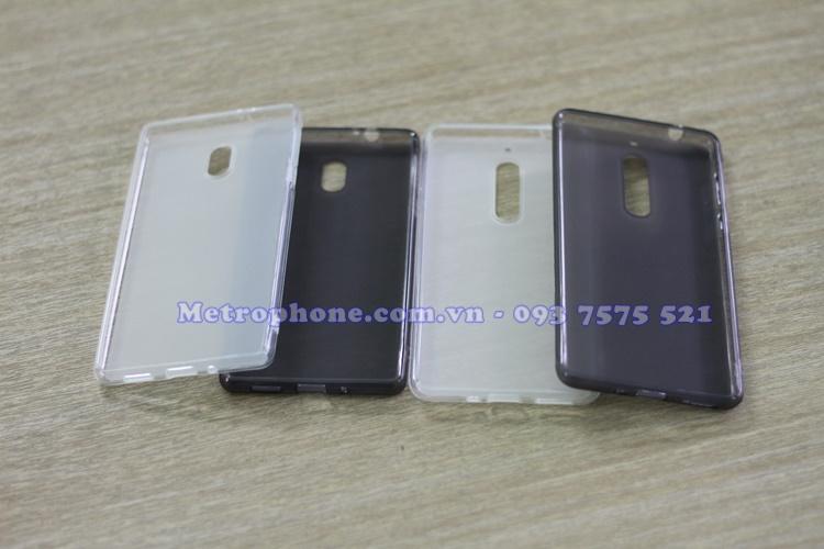 [4630] Ốp Lưng Silicon Dẻo Cho Nokia 3/ Nokia 5 - www.metrophone.com.vn
