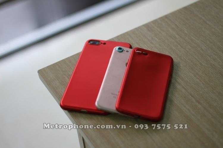 Ốp dẻo phiên bản vỏ đỏ dành cho iPhone 6/ 6 Plus và iPhone 7/7Plus - Metrophone.com.vn