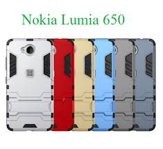 [693] Ốp Chống Sốc Phong Cách Iron Man Cho Lumia 650