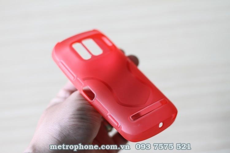 [3539] Ốp Silicon Dẻo Nokia 808 Pureview - Metrophone.com.vn