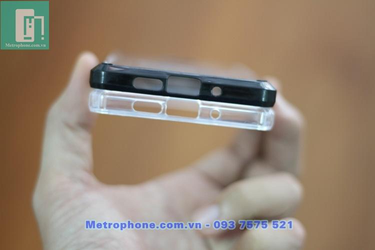 [6061] Ốp Lưng Chống Sốc Trong Suốt Viền Màu Sắc Cho Nokia 7 Plus - Metrophone.com.vn