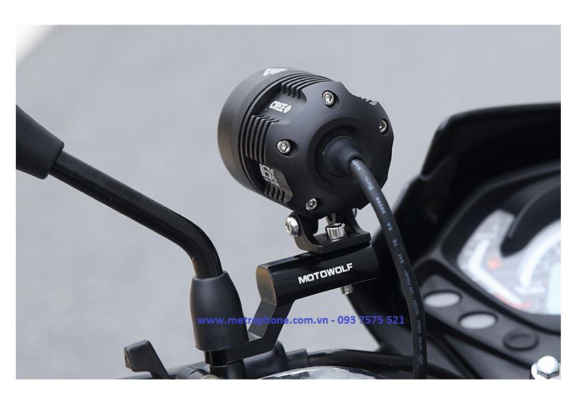 pat ngang cnc motowolf chuyển chân kính sang gi đông xe máy metrophone.com.vn 1