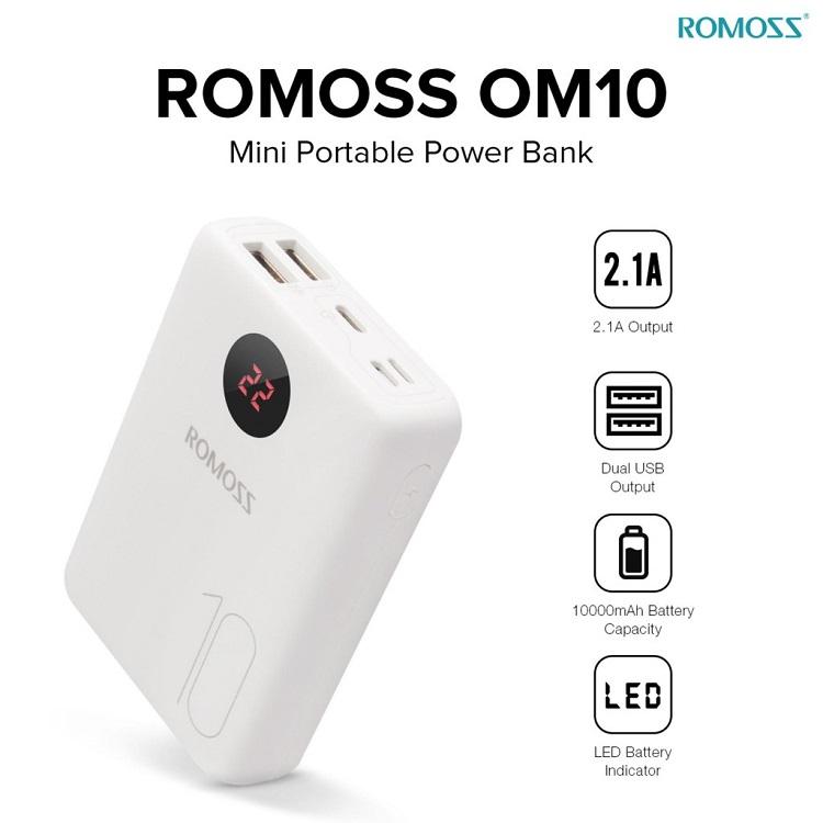 pin dự phòng romoss mo10 metrophone.com.vn