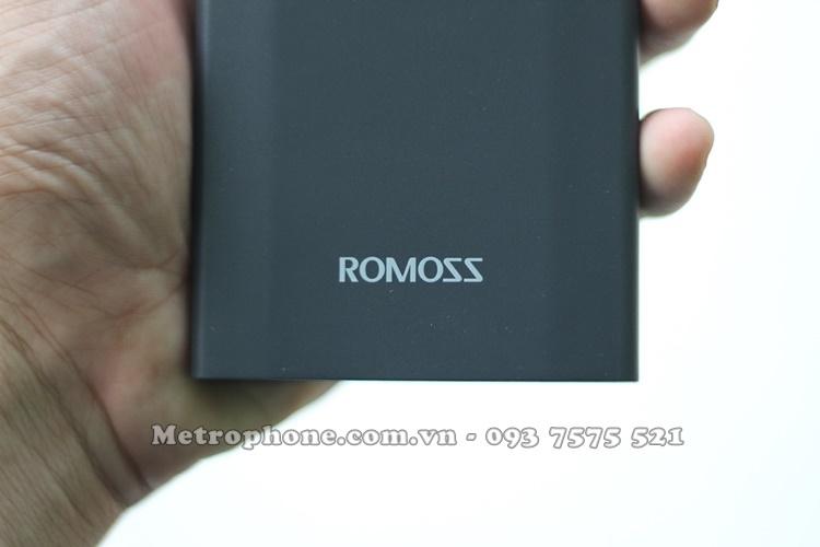 [5012] PIN DỰ PHÒNG ROMOSS DP1O 10.000MAH SẠC NHANH 2 CHIỀU 3.0 - Metrophone.com.vn