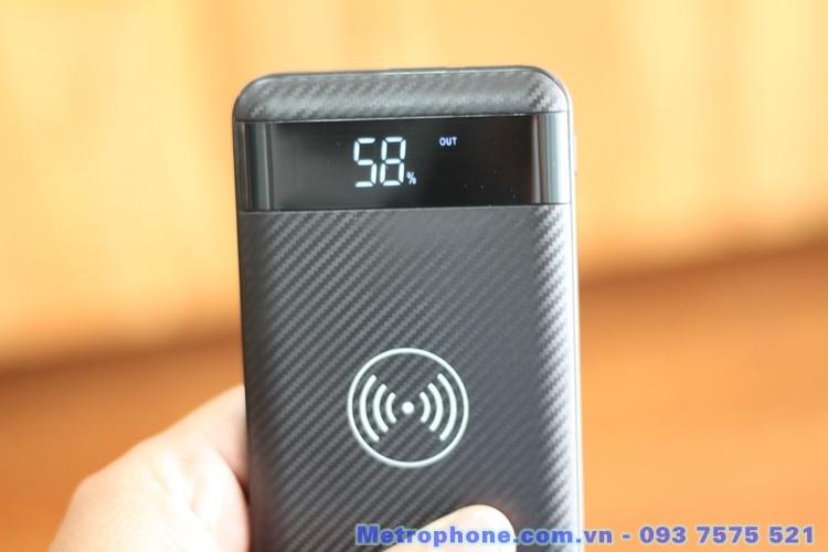 [6034] Pin Dự Phòng Kiêm Sạc Không Dây HOCO J11 metrophone.com.vn
