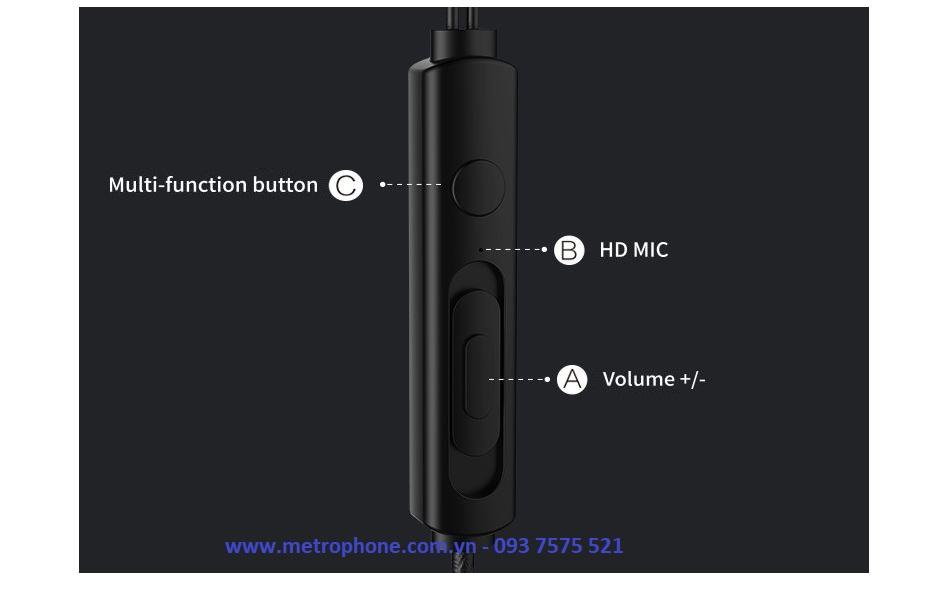 Tai Nghe Dây Remax RM-711 metrophone.com.vn