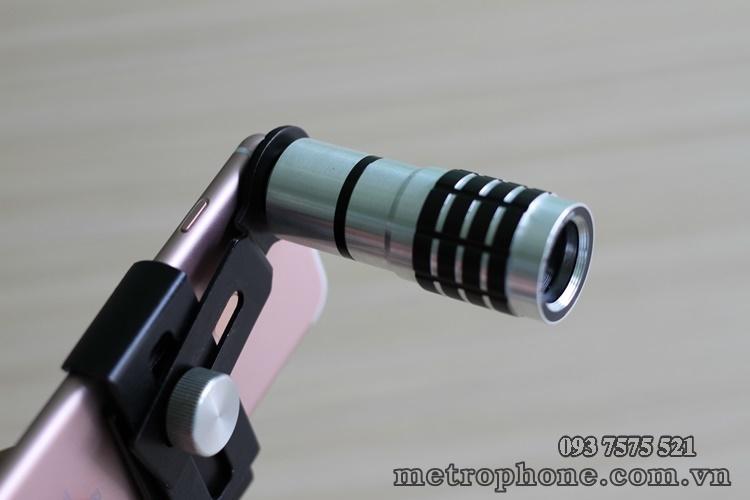 [044] Ống kính tele zoom 10x ( chụp xa khoảng 40m ) - Metrophone.com.vn