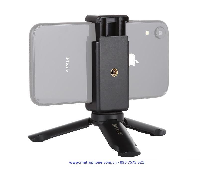 tripod mini gắn điện thoại cầm tay metrophone.com.vn
