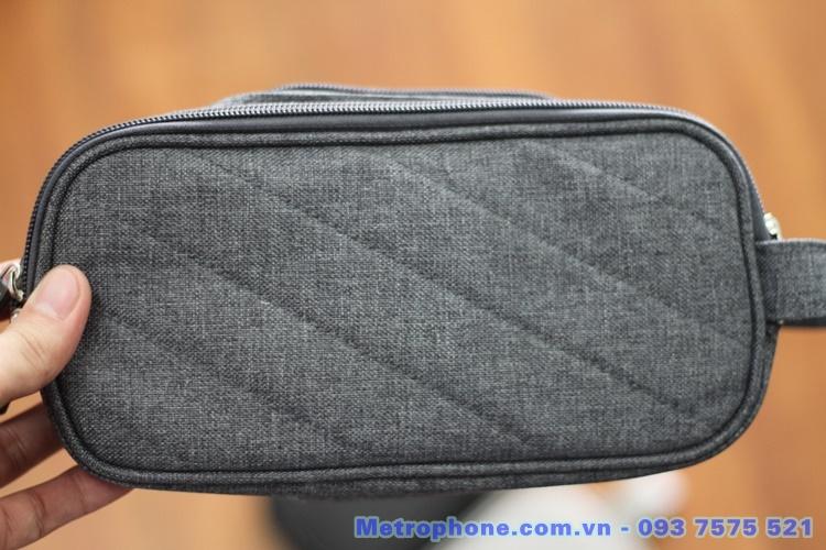 [6035] Túi Đựng Đồ Công Nghệ Dạng Dài Lớn Hiệu Boona - Metrophone.com.vn