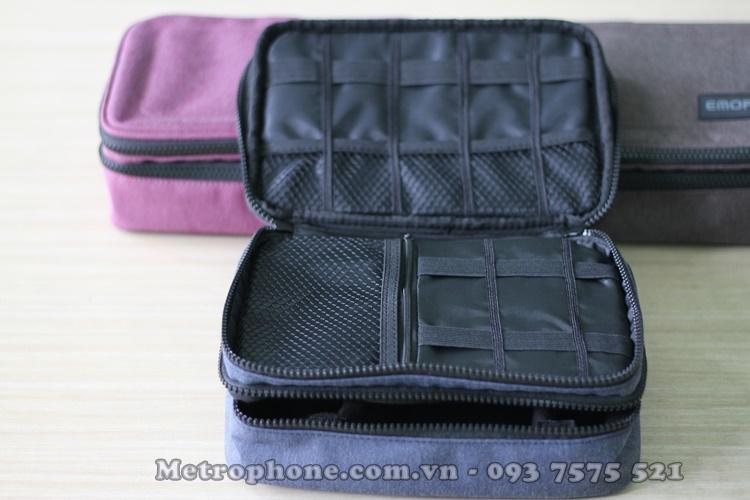 [5725] Túi Đựng Đồ Công Nghệ EMORI ( Size Lớn ) - metrophone.com.vn