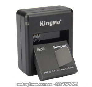 [583] Sạc Rời Và Pin Kingma Cho Camera Xiaomi Yi Sport - metrophone.com.vn