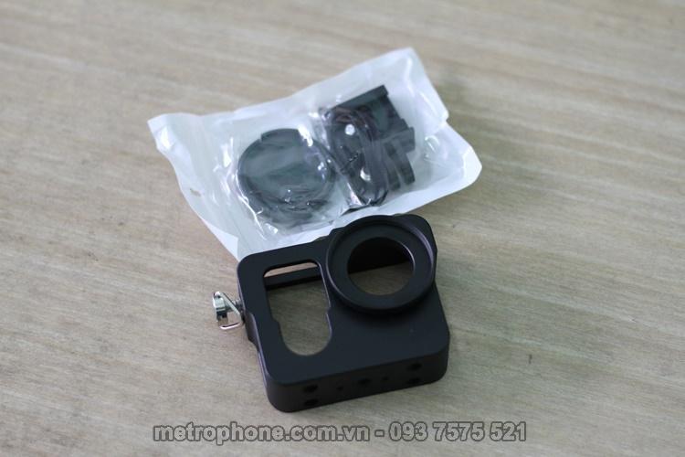 [688] Khung Viền CNC Bảo Vệ Cho GoPro 3+/4 - Metrophone.com.vn