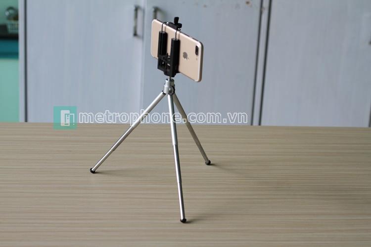 [495] Tripod Nhôm Mini Dài 24cm - metrophone.com.vn