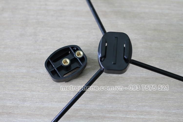 [4087] Adapter Chuyển Tripod Sang Đế Gài Camera Hành Động - Metrophone.com.vn
