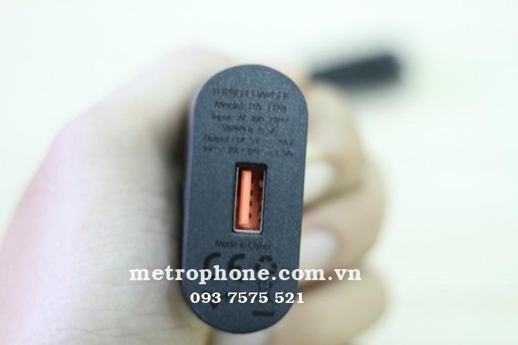 [309] Củ Sạc Nhanh Quick Charge 2.0 Aukey PA-U28 - Metrophone.com.vn