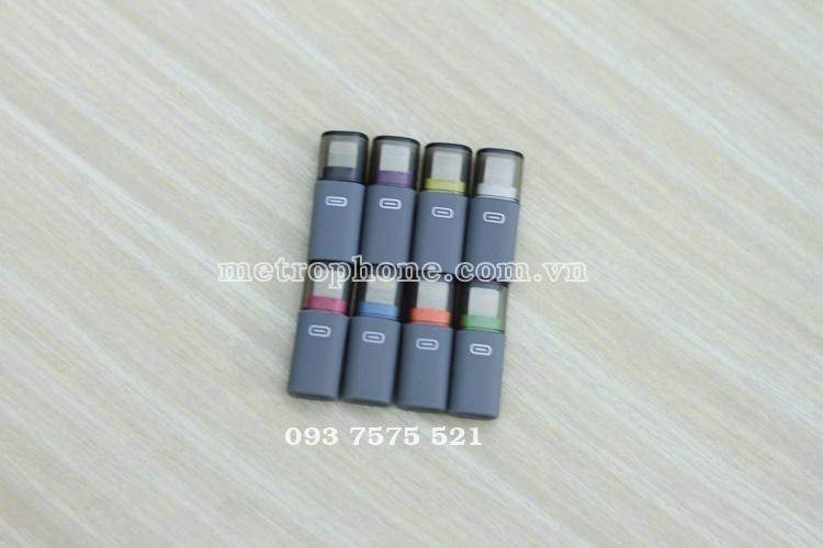 [123] Adapter Chuyển MicroUsb Sang Lightning - Metrophone.com.vn