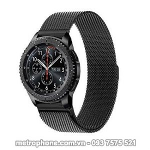 [3457] Dây Kim Loại Cho Samsung Gear S3 Classic / Frontier/ Ticwatch 1/ Fossil Q Founder/Xiaomi Amazfit - Metrophone.com.vn