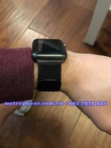 [4410] Dây Đeo Kim Loại Milanese Loop Dành Cho Apple Watch - Metrophone.com.vn