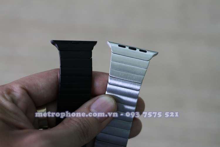 [4571] Dây Thép Link Bracelet Apple Watch 38mm/42mm Replica - Metrophone.com.vn