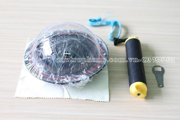[686] Dome Telesin V3 Cho GoPro 3+/ 4 Hỗ Trợ Chụp Hình Dưới Nước - Metrophone.com.vn