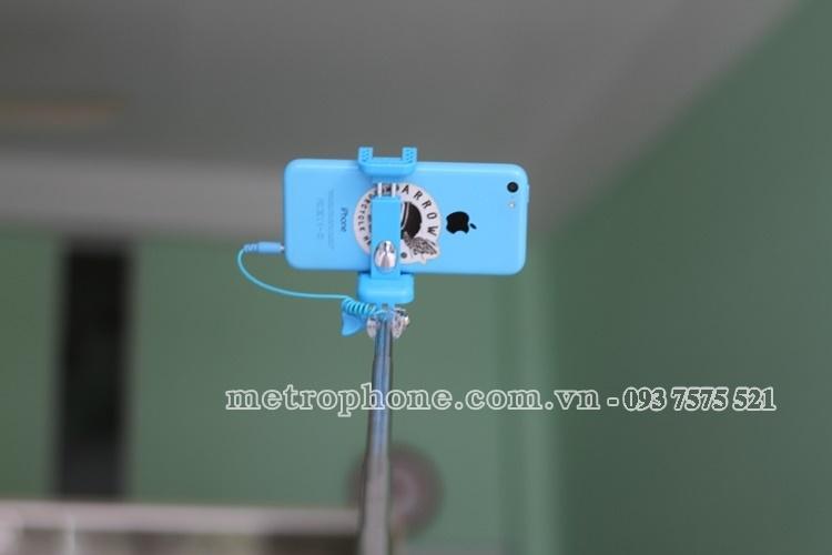 [766] Gậy Tự Sướng RK-Mini3 - Metrophone.com.vn