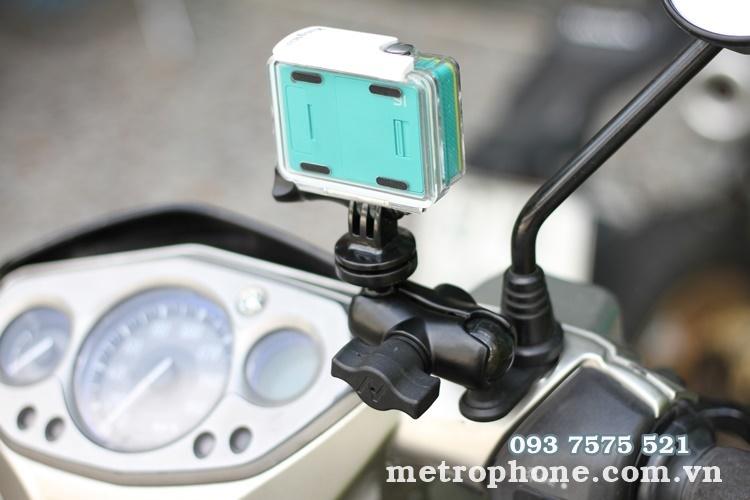[140] Giá Đỡ Điện Thoại,Camera Hành Động Gắn Gi Đông ,Chân Kính Xe Đạp và Xe Máy - Metrophone.com.vn