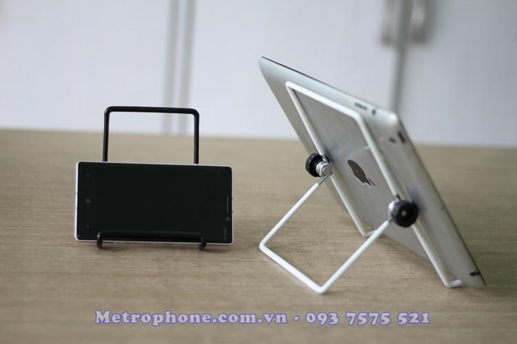 [5121] Khung Hợp Kim Giữ Điện Thoại/Máy Tính Bảng - Metrophone.com.vn