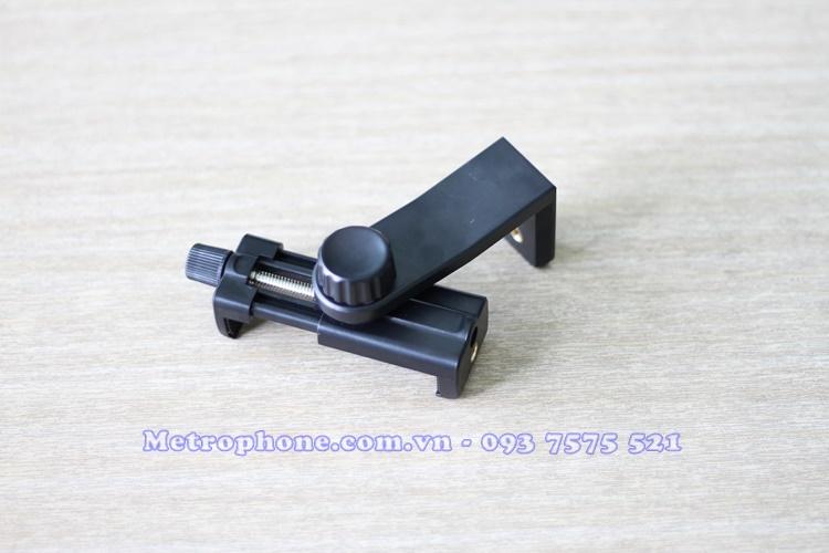 [5126] Khung Kẹp Điện Thoại Lên Tripod Xoay Được 360 độ - Metrophone.com.vn