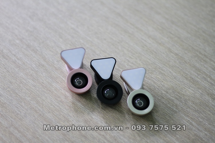 [5310] Ống Kính LIEQI LQ-035 Tích Hợp Đèn Led Đa Năng -metrophone.com.vn