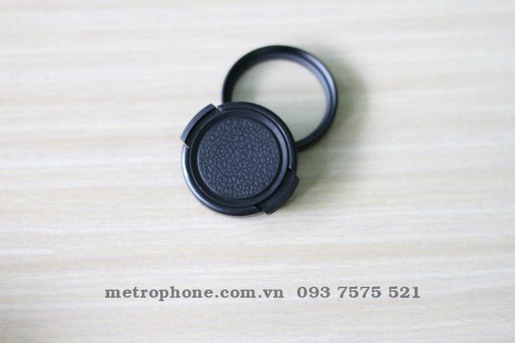 [2858] Nắp Đậy Ống Kính Và Kính Lọc Phi 37mm - Metrophone.com.vn