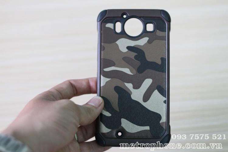 [1542] Ốp Chống Sốc Nokia Lumia 950 Style Camo Lính - metrophone.com.vn