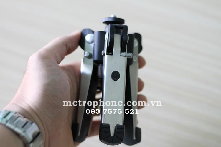 [1833] Chân Tripod Mini Đa Năng Với 2 Đầu Ren Ốc 1/4 Xoay Được 360 độ - Metrophone.com.vn