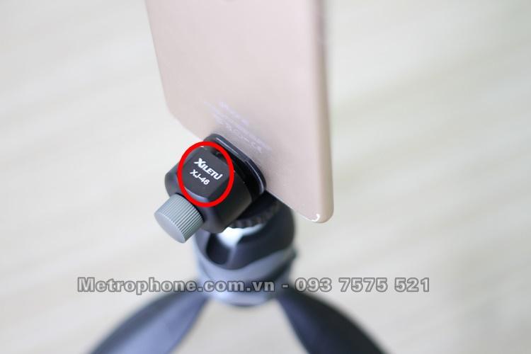 [5423] Khung Kẹp Điện Thoại Và Máy Tính Bảng Xiletu XJ-46 - Metrophone.com.vn