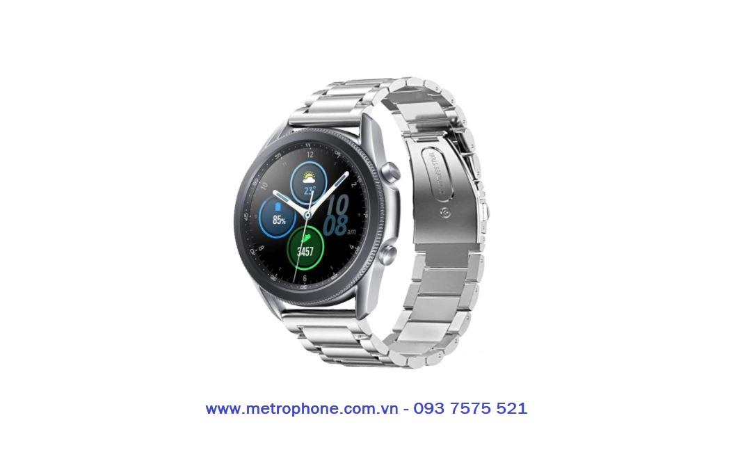 dây thép đúc cho galaxy watch 3 45mm metrophone.com.vn