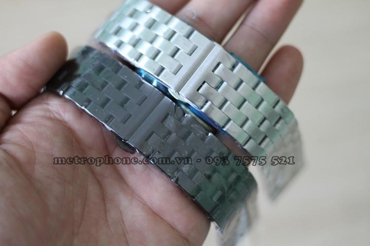dây thép mắt xích cho watch 3 45mm