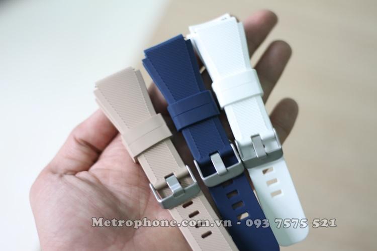 Dây cao su bản bự cho samsung galaxy watch 45mm
