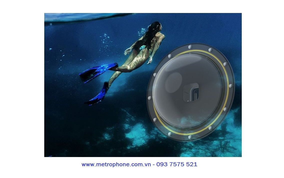 dome telesin gopro 9 metrophone.com.vn